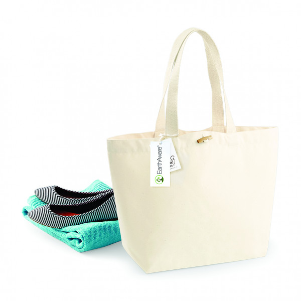 Westford Mill EarthAware™ Organic Marina Bag - W850 - Natural