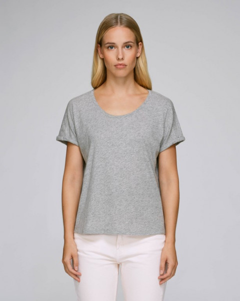 Heather Grey Slub
