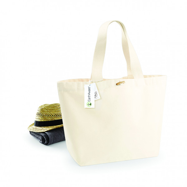 Westford Mill EarthAware Organic Marina Bag XL - W855 - Natural