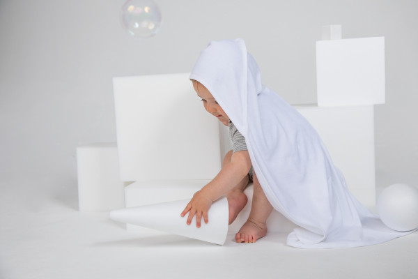 Babybugz Baby Organic Hooded Blanket - BZ24